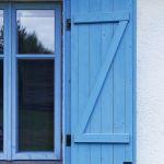 drewniane okiennice