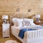 dom z drewna sypialnia