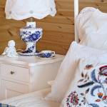 aranżacja sypialnia w drewnie