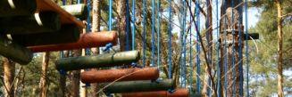 Park linowy w Józefowie