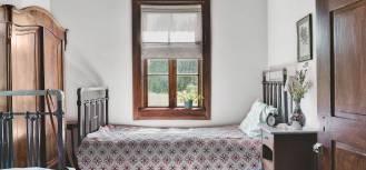 sypialnia w stylu wiejskim