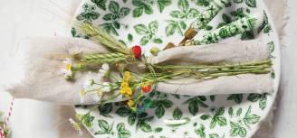 bukiety z kwiatów polnych