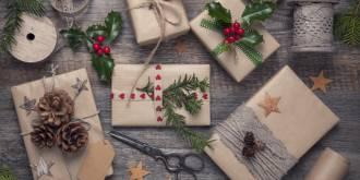 ozdoby świąteczne z szyszek