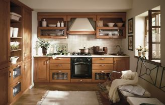 Urządzamy od podstaw kuchnię w stylu rustykalnym
