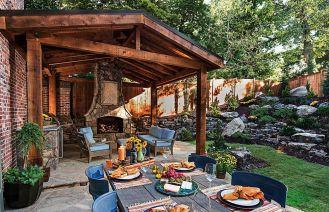 Kominki, paleniska i ogrzewacze do ogrodu