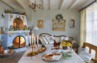 Dom pod Aniołami: jak prawdziwa wiejska chata