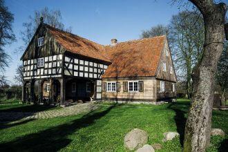 Mały Holender – dom podcieniowy na Żuławach