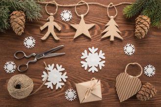 ozdoby świąteczne z papieru