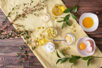Krem do twarzy z żółtka – dla miękkiej i gładkiej cery
