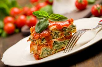 warzywna lasagne z resztek