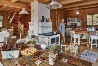 Kawa na Kotarzu – drewniany dom w Brennej