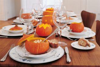 13 nakryć stołu na Halloween
