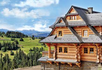 Domek w górach na Smrekowej Polanie