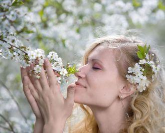 Atrakcyjny zapach roślin