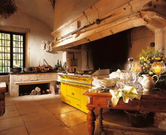 Tradycyjne francuskie kuchenki Lacanche