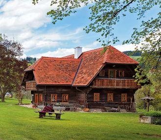 Dom w Alpach austriackich pachnący strudlem