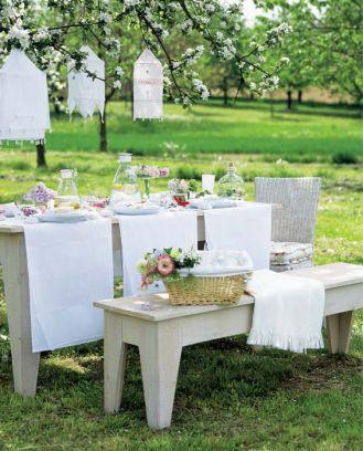 Inspiracje na przyjęcie w ogrodzie