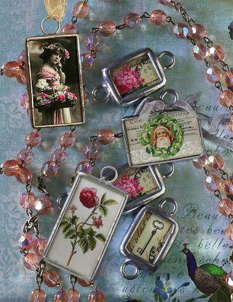 Biżuteria retro: słodkie charmsy