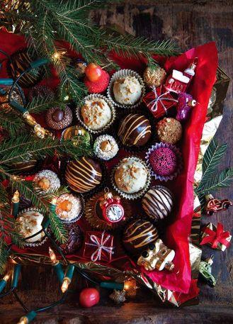 Słodki prezent DIY: domowe pralinki