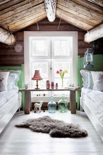 Skandynawski mały domek