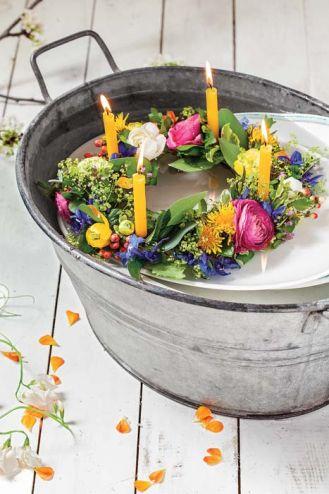 Jak upleść wianek z kwiatów?