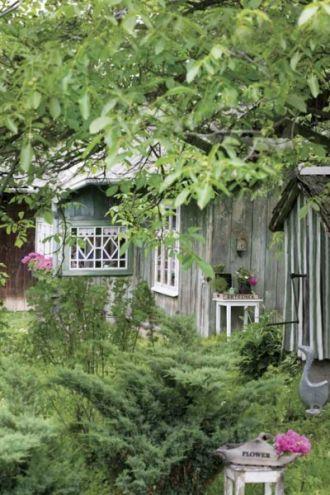 Zielona chatka