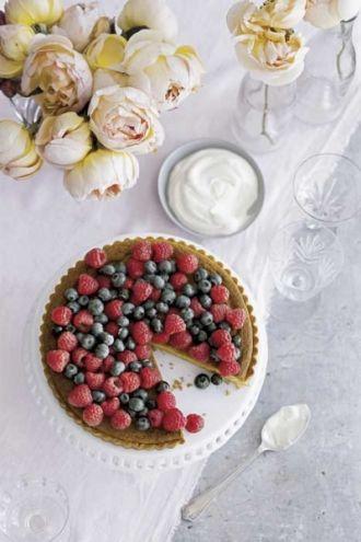 Letni deser z owocami