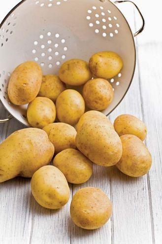 Nie gotuj zielonych ziemniaków