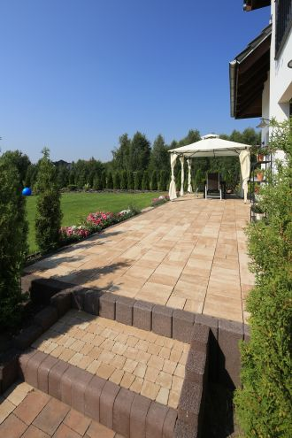 Geometria rządzi ogrodem – przegląd nawierzchni Polbruk