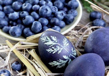 Naturalnie barwione, ziołowe pisanki