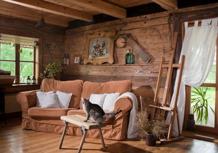 Rustykalna chata w Smolniku [WIĘCEJ ZDJĘĆ]