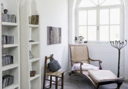 Włoski dom z meblami z odzysku