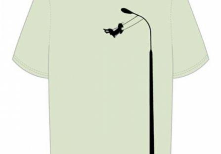 T-shirt z latarnią