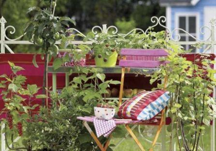Ogród w stylu retro
