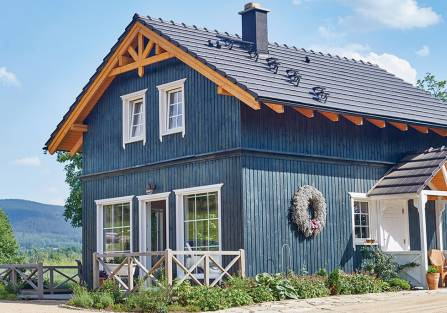 domek norweski