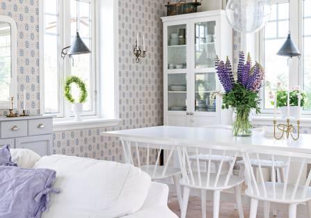Jak z bajki: romantyczny dom w stylu skandynawskim