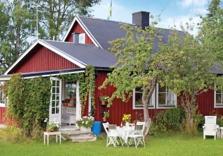 Wyspa wspomnień: letni domek urządzony starociami