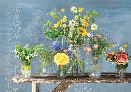 Bukiety z kwiatów, ziół i traw