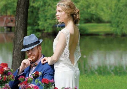 Piękna suknia do ślubu