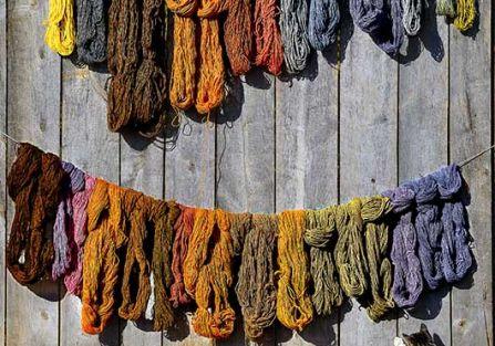 Jak naturalnie barwić tkaniny? - Opowiada Marika Grzelak