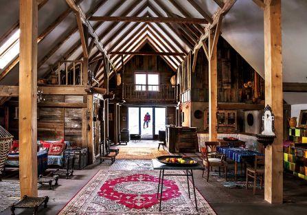Patchworkowa stodoła w Tatrach