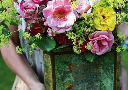 Dalie i róże - królowe lata