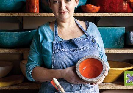 Turbokolor: w pracowni ceramicznej Doroty
