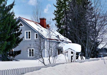 Fiński domek z fantazją