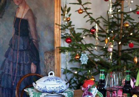 Szwedzki dom pełen kolorów