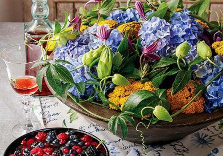 Układamy kwiaty: jak zrobić bukiet w półmisku?