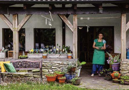 Agroturystyka jak galeria sztuki: Szklana Kuźnia w Górach Izerskich