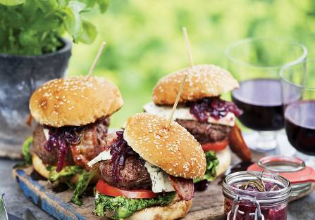 burgery przepis