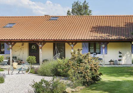dom w stylu prowansalskim