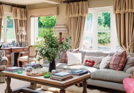 Jak z powieści Jane Austen: dom z kamienia na angielskiej wsi